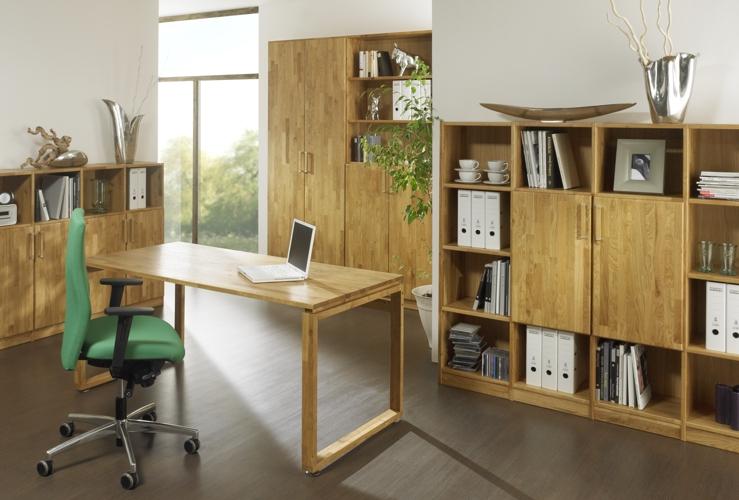 Arbeitszimmer mit Möbeln nach Maß in Berlin